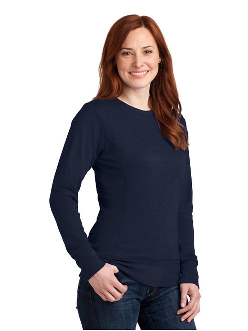 Ladies French Terry Crewneck Sweatshirt