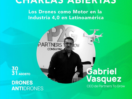 """P2Grow C&S Presente en el Congreso Internacional CODE 2019 con una puesta de """"Ingenieria con Drones"""""""