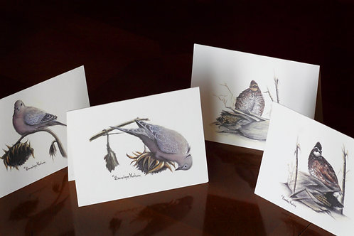 Dove & Quail, Notecards (Set of 12)