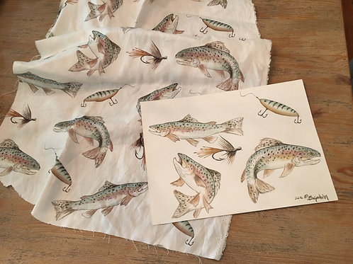 "Fabric ""Trout"""