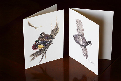 Duck & Quail, Notecards (Set of 12)