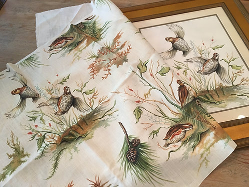 "Fabric ""Bobwhite Covey & Flight"""