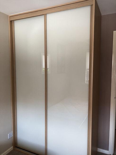 Classic style sliding wardrobe