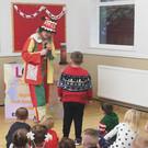 Children in hall