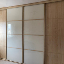 Oriental style sliding wardrobe