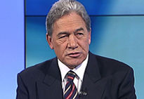 Rt Hon Winston Peters MP, on Rex Widerstrom as a political consultant and politician