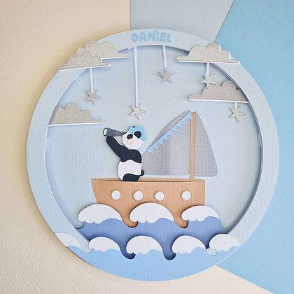 Star Sailor Panda   Hoop