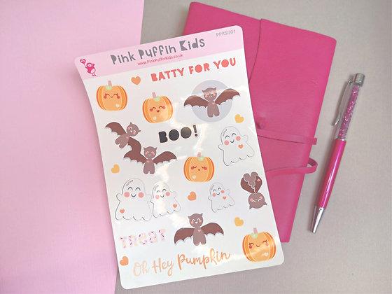 Cute Kawaii Halloween Stickers