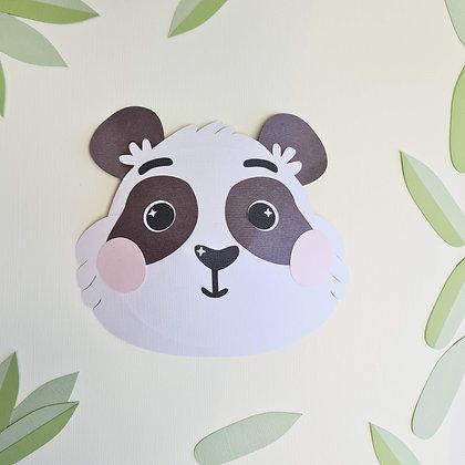 Cute Panda Face | 3D Decoration
