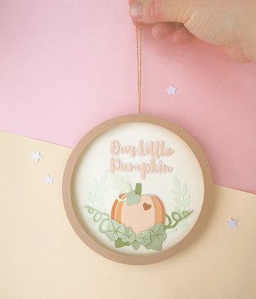 Our Little Pumpkin Hoop