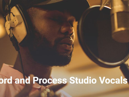 ¿Cómo grabar y procesar voces de estudio en casa?