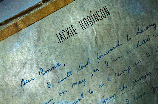 A Letter from Jackie Robinson