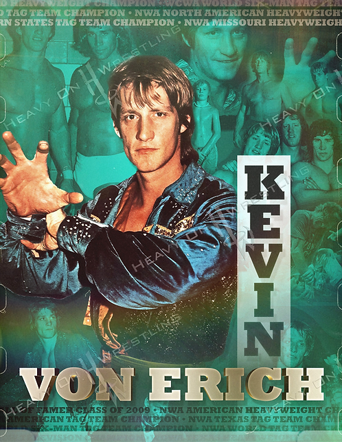 Kevin Von Erich Autographed Photo