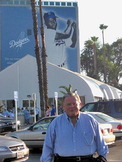 Ron at Dodger Stadium