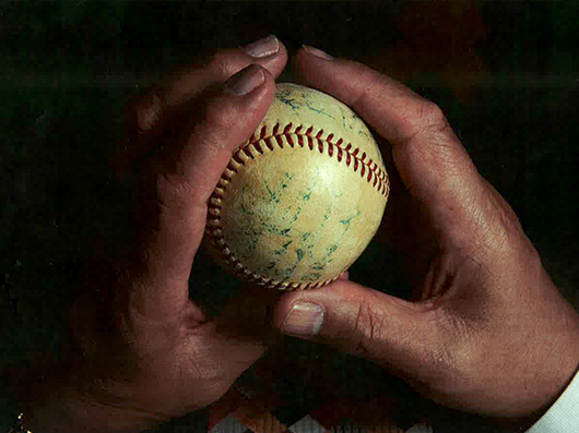 Ron's Prized Autographed Baseball