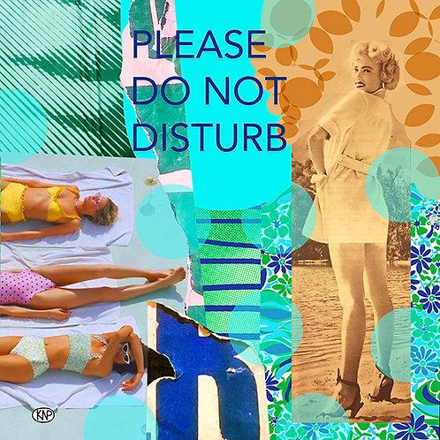 "Diseño ""Do not disturb"""