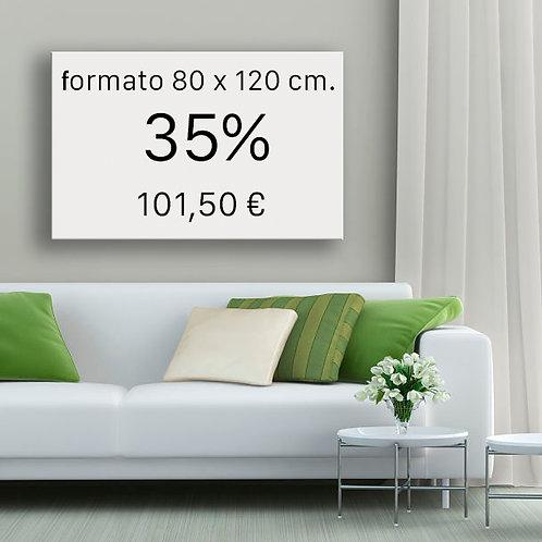 35% FORMATO 80x120 cm