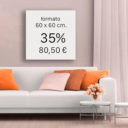 35% FORMATO 60x60 cm