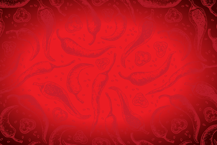 Red Chilli Background - Lainey's Foods