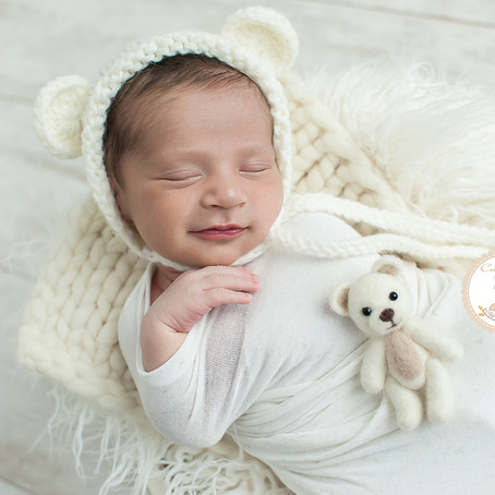 Ensaio newborn Mikael | São José dos Campos