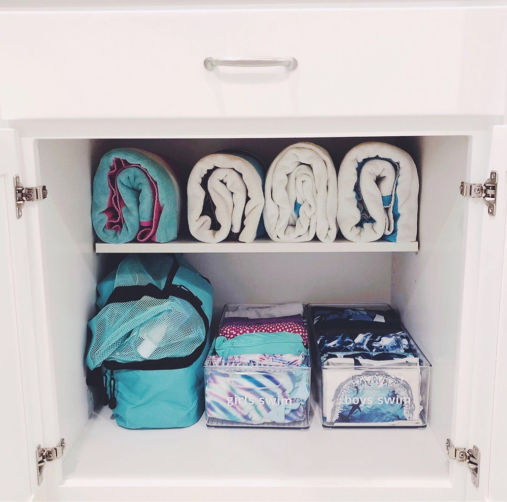 Neat Little Nest: Swim Organization