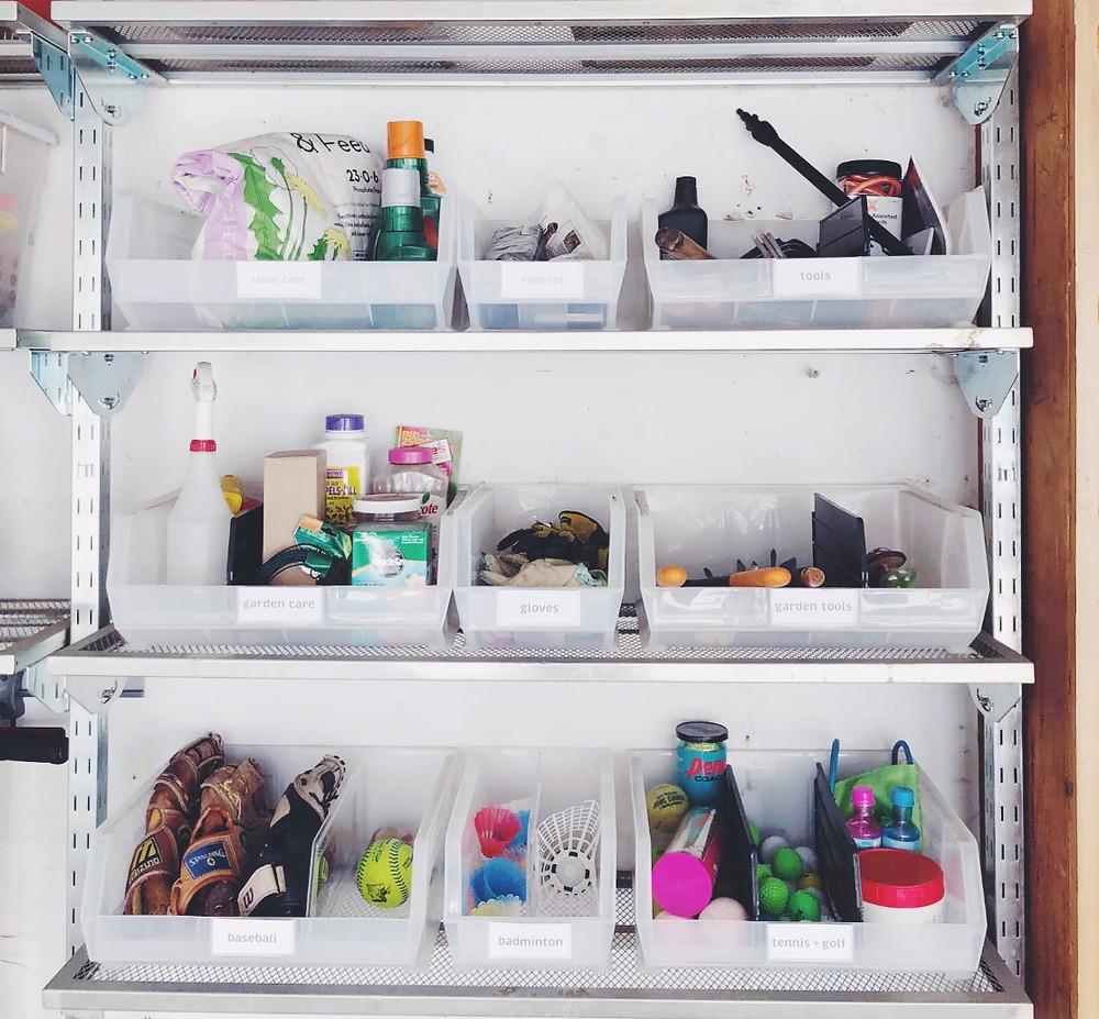 Neat Little Nest: Garage Organization