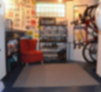 Neat Little Nest: Organizing A Man's Work Shop #Bikes #Men #Workshop #Garage #ManCave #Upcycle #DIY #Beer #Decorate #Wallpaper
