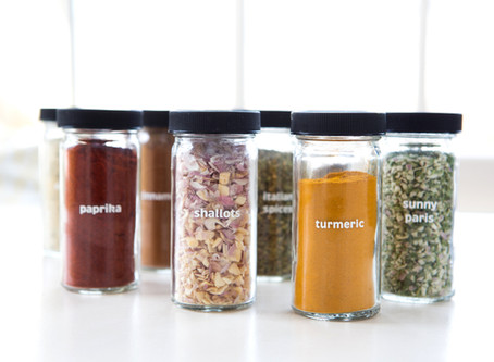 organizing spices