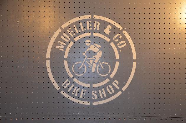 Neat Little Nest: Organizing A Man's Work Shop #Bikes #Men #Workshop #Garage #ManCave