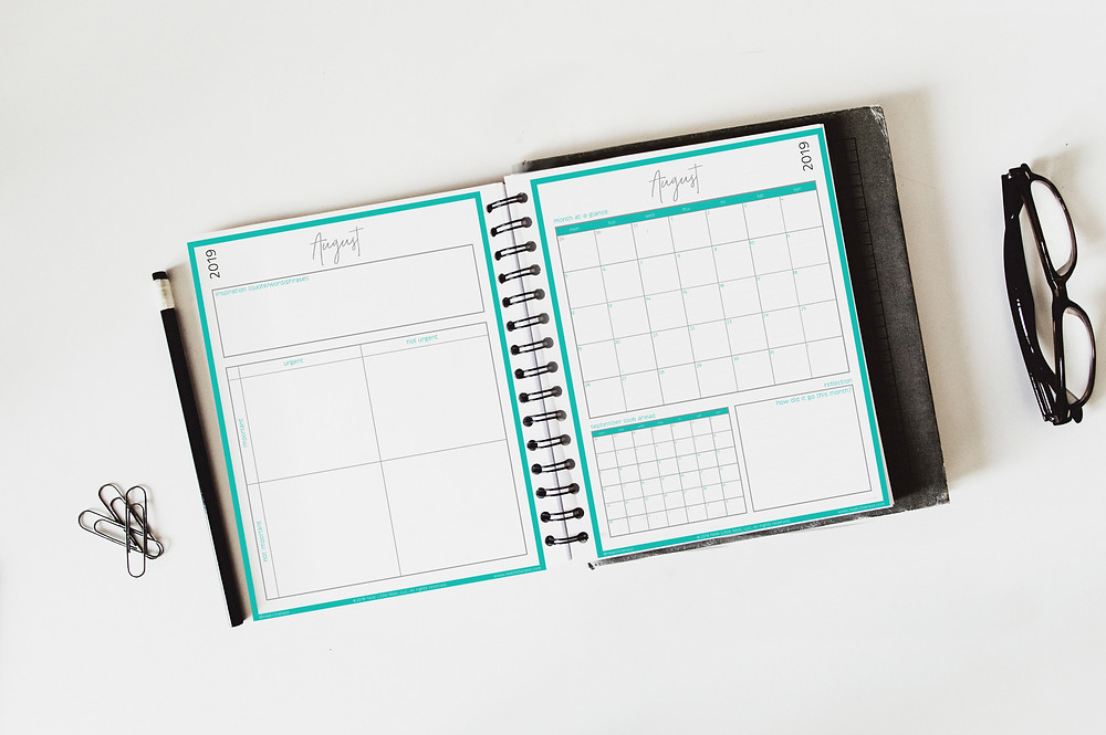 Monthly Success Planner | Neat Little Nest