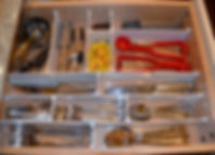 Neat Little Nest: #Kitchen Drawer #Organized with Customized Ddividers