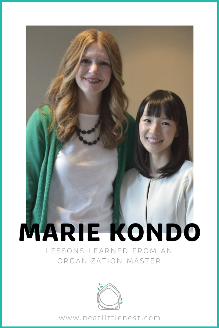 Michele Vig, Owner + Chief Organizer at Neat Little Nest | Marie Kondo, NYT Best-selling Author