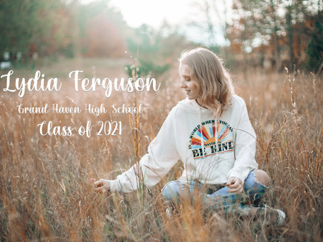 Heart of Gold Lydia - Class of 2021