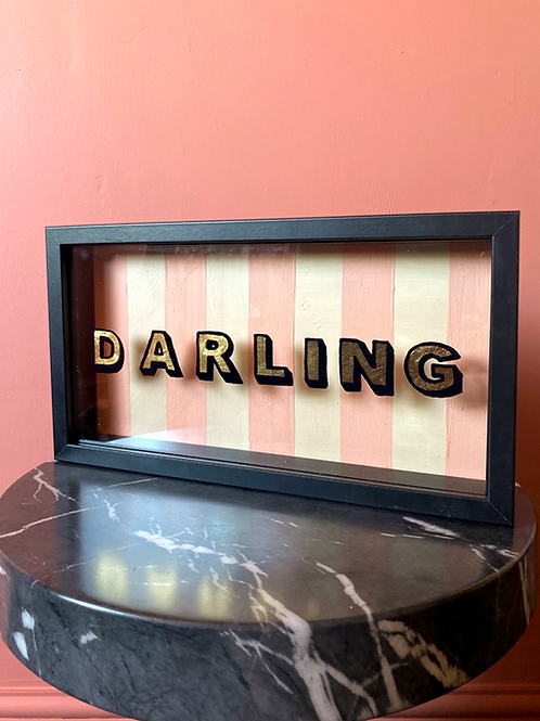 Darling Sign (Free P&P)