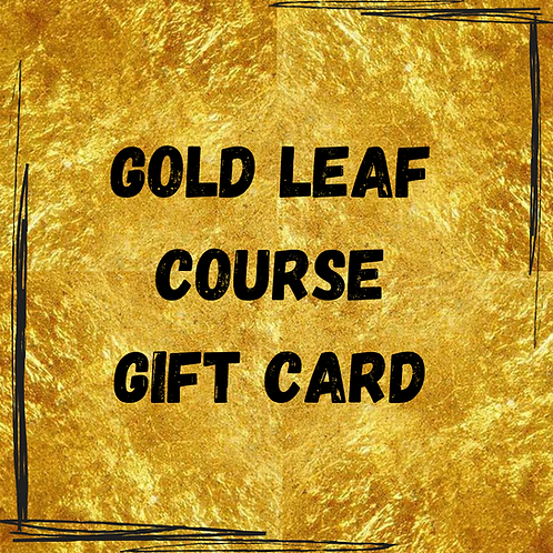 Gold Leaf Course Gift Card