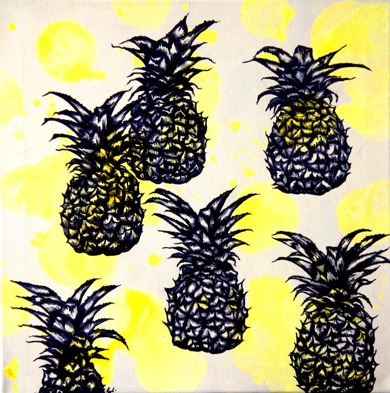 6 ananas par jour