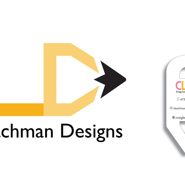 CLD logo Design and Business Card Mock up
