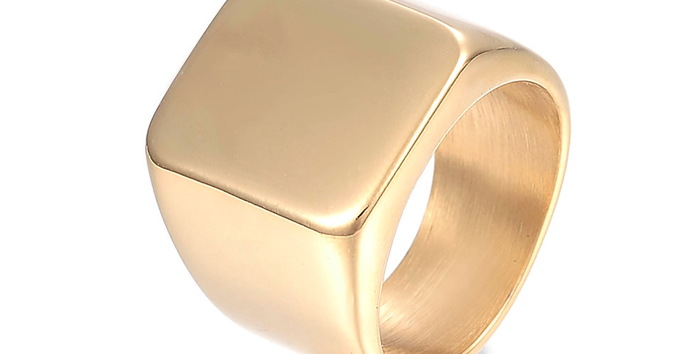 OVERSIZED SIGNET RING