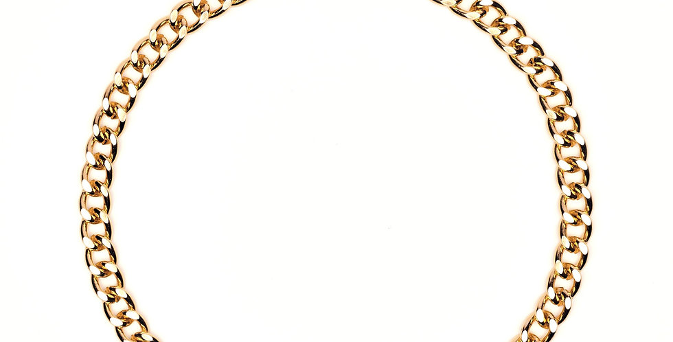 CHUNKY GOLD ADJUSTABLE NECKLACE