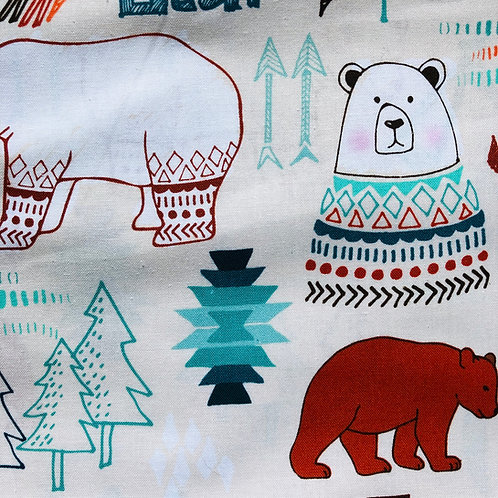 Bear Cotton Bandana
