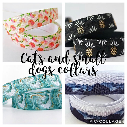 Copy of Cat & Small Dog Collars