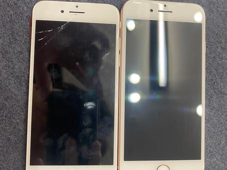 10/17 iPhoneSE2 画面修理