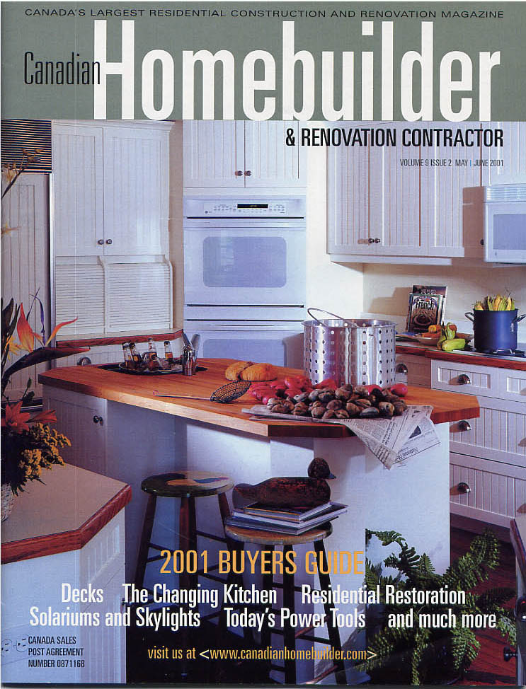 Canadian Homebuilder Magazine