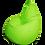 Thumbnail: Lime green XL size Bean Bag