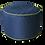 Thumbnail: Black Round chair Bean Bag