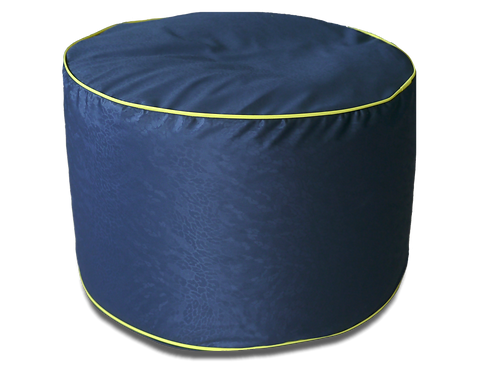Black Round chair Bean Bag