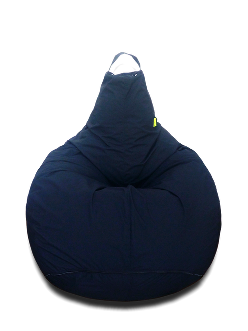 Black Classic XL Bean Bag, water resistant