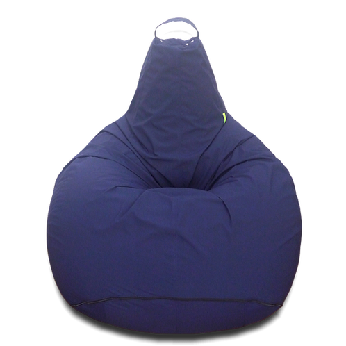 Navy Blue XL size Bean bag, water resistant cover
