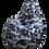 Thumbnail: Black and white geometric print XL size bean bag