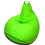 Thumbnail: Bright green XL size Bean Bag